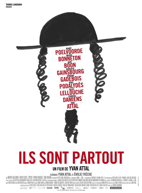 ils sont partout_yvan attal_benoit poelvoorde_charlotte gainsbourg_dany boon_affiche_poster