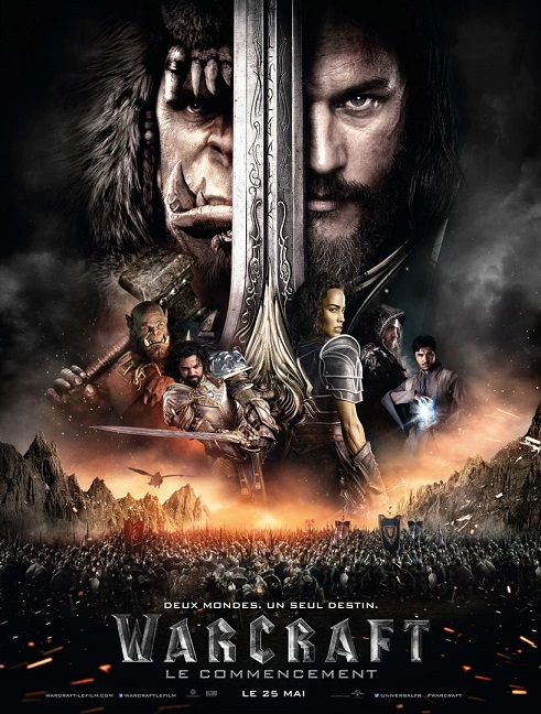 warcraft le commencement_travis fimmel_duncan jones_blizzard_affiche_poster