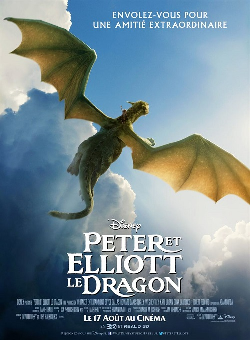 peter et elliott le dragon_pete's dragon_oakes fegley_bryce dallas howard_karl urban_david lowery_affiche_poster