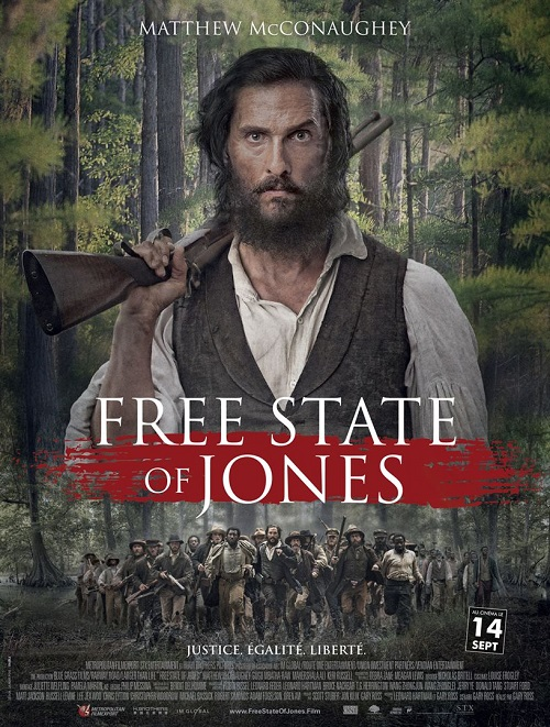 free state of jones_matthew mcconaughey_Gugu Mbatha-Raw_gary ross_affiche_poster