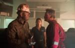 Vidrine (John Malkovich), Andrea Fleytas (Gina Rodriguez), Jimmy Harrell (Kurt Russell)