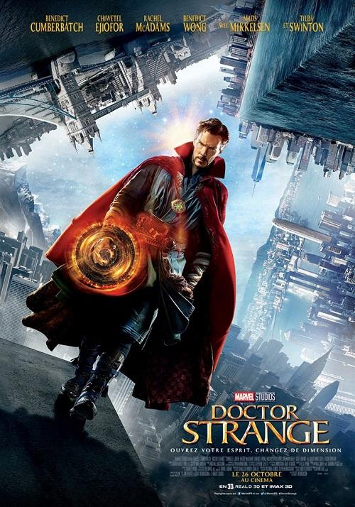 doctor strange_benedict cumberbatch_rachel mcadams_tilda swinton_scott derickson_affiche_poster