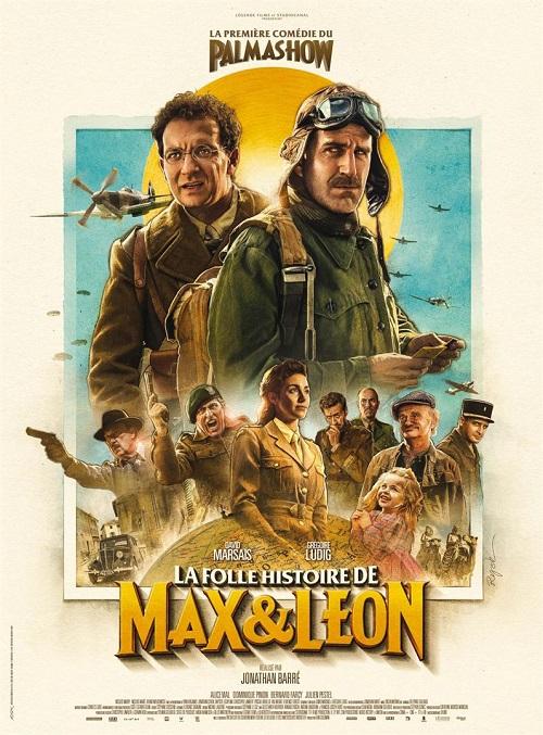 la folle histoire de max et léon_David Marsais_Grégoire Ludig_palmashow_jonathan barré_affiche_poster