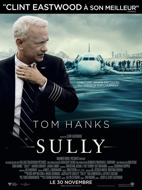 sully_tom hanks_aaron eckhart_clint eastwood_affiche_poster