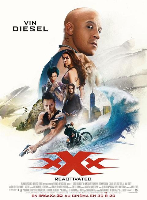 xxx reactivated_vin diesel_donnie yen_dj caruso_affiche_poster