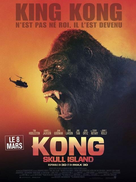 kong skull island_tom hiddleston_samuel l jackson_jordan vogt-roberts_affiche_poster