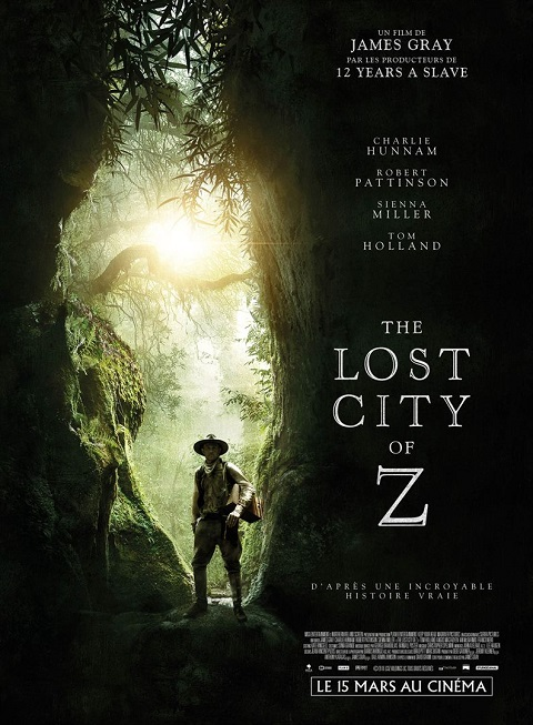 the lost city of z_charlie hunnam_robert pattinson_james gray_affiche_poster