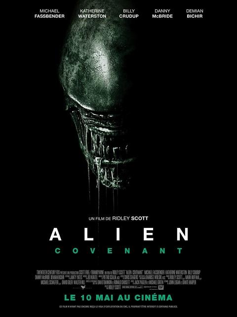 alien covenant_michael fassbender_katherine waterston_ridley scott_affiche_poster