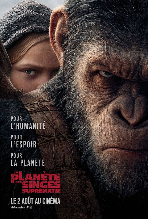 la planete des singes suprematie_war for the planet of the apes_andy serkis_woody harrelson_matt reeves_affiche_poster