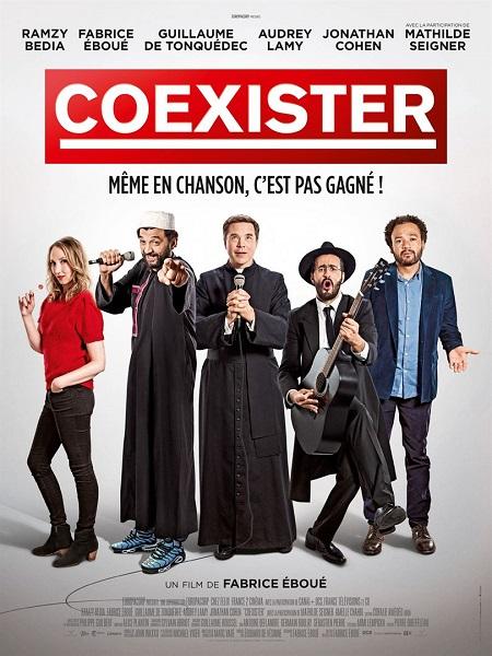 coexister_ramzy bedia_jonathan cohen_guillaume de tonquedec_audrey lamy_fabrice eboue_affiche_poster