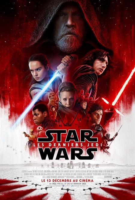 star wars 8 les derniers jedi_the last jedi_daisy ridley_adam driver_mark hamill_rian johnson_affiche_poster