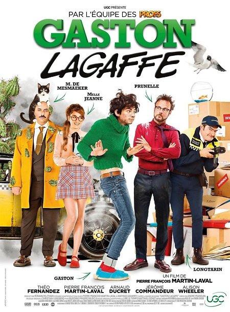 gaston lagaffe_theo fernandez_alison wheeler_pierre-francois martin-laval_affiche_poster