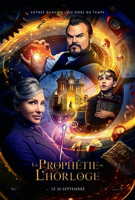 prophetie de l horloge_jack black_cate blanchett_eli roth_affiche_poster