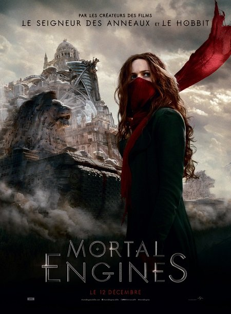 mortal engines_christian rivers_peter jackson_affiche_poster
