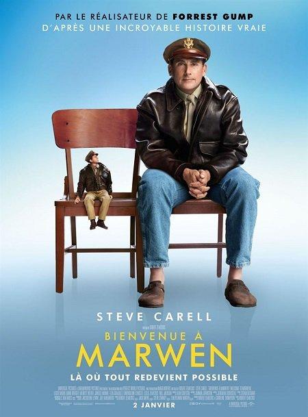 bienvenue a marwen_steve carrel_robert zemeckis_affiche_poster