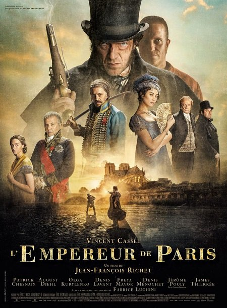 empereur de paris_vincent cassel_jean-françois richet_affiche_poster
