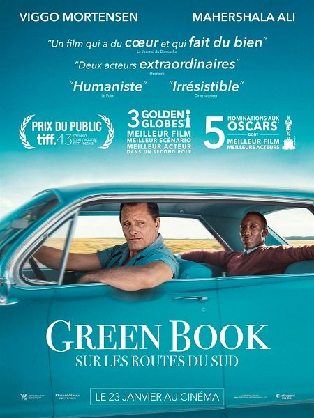 green book_mahershala ali_viggo mortensen_peter farrelly_affiche_poster