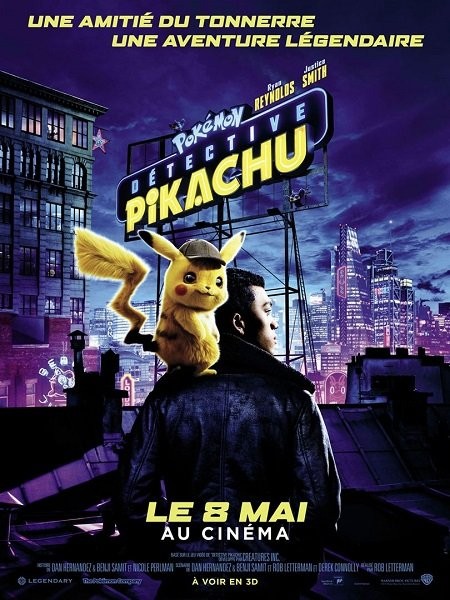 detective pikachu_ryan reynolds_justice smith_rob letterman_pokemon_affiche_poster