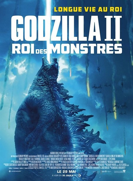 godzilla 2 roi des monstres_king of monsters_kyle chandler_vera farmiga_michael dougherty_affiche_poster