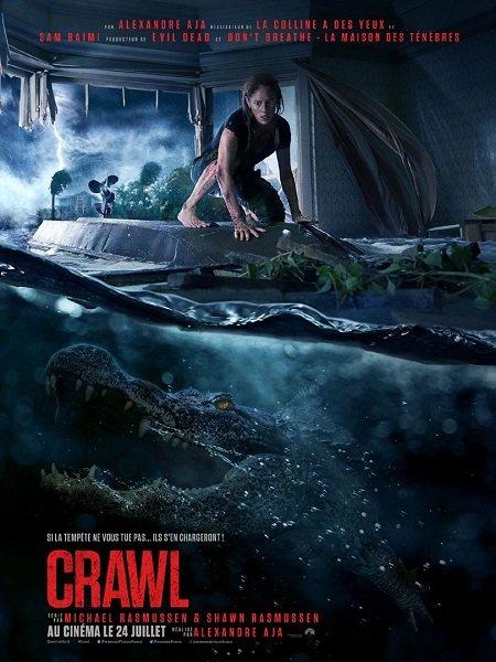 crawl_kaya scodelario_barry pepper_alexandre aja_affiche_poster