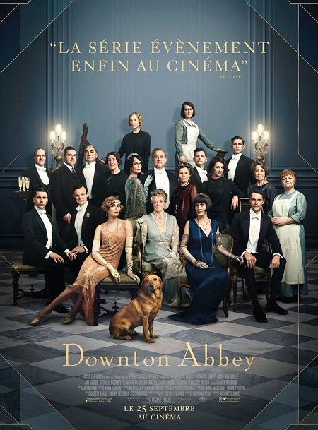 downtown abbey_maggie smith_michelle dockery_michael engler_affiche_poster