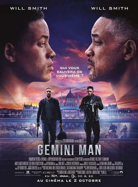 gemini man_will smith_mary elizabeth winstead_ang lee_affiche_poster