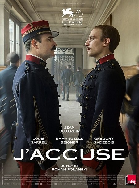j accuse_jean dujardin_louis garrel_roman polanski_affiche_poster