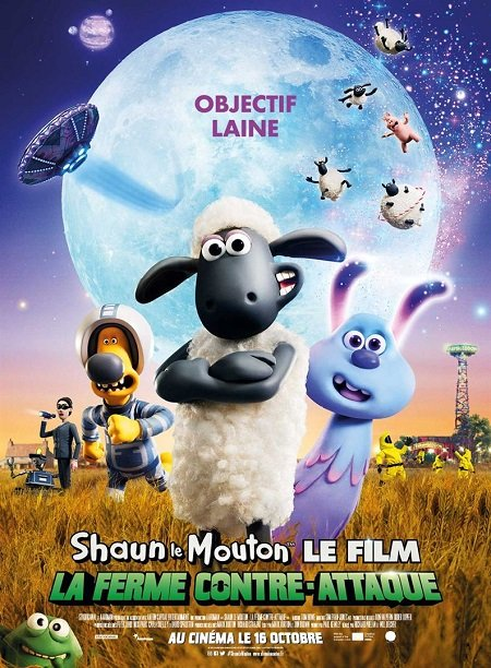 shaun le mouton 2 le film la ferme contre-attaque_farmageddon_will becher_richard phelan_aardman_affiche_poster
