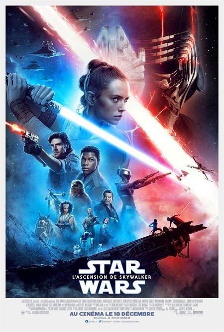 star wars 9 ascension de skylwalker_daisy ridley_john boyega_jj abrams_affiche_poster
