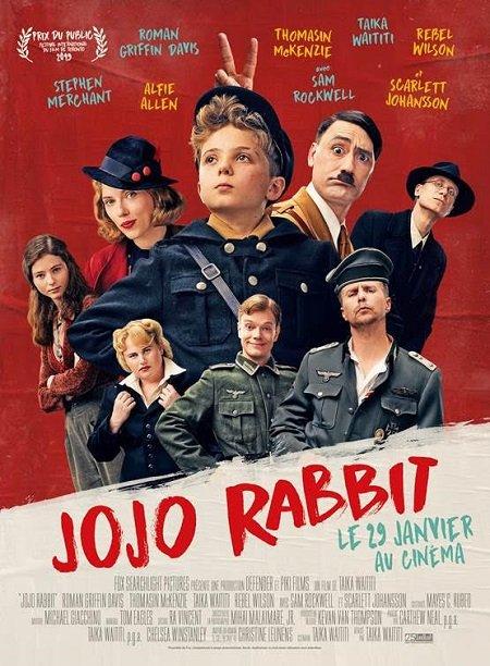 jojo rabbit_roman griffin davis_scarlett johansson_taia waititi_affiche_poster