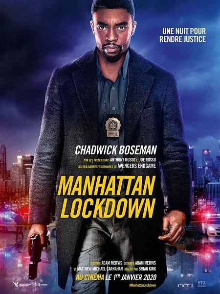 manhattan lockdown_21 bridges_chadwick boseman_sienna miller_brian kirk_affiche_poster